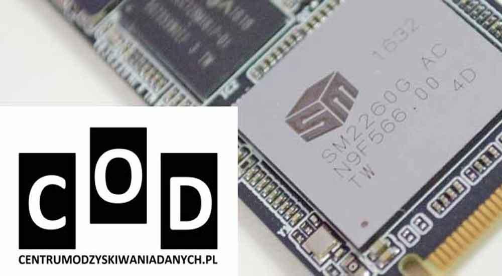 Odzyskiwanie danych z dysków SSD NVME